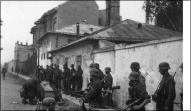 Bundesarchiv Bild 101I-695-0411-04A, Warschauer Aufstand, Soldaten mit Goliath 01-067 - Zdjęcia