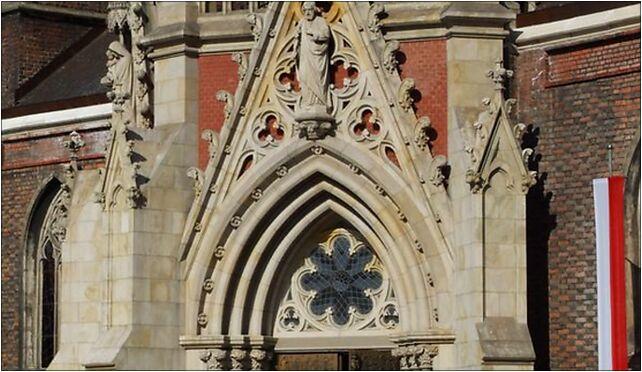Eingang in Neisse Kathedrale, Kościelny, pl. 5, Nysa 48-300 - Zdjęcia