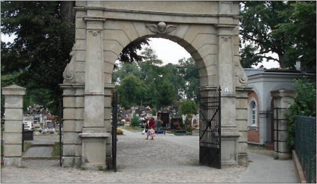 Grudziądz, Brama cmentarna, Łyskowskiego, Grudziądz 86-300 - Zdjęcia