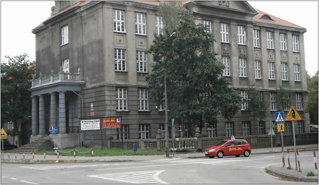 Grudziądz, szkoła zawod., Łyskowskiego, Grudziądz 86-300 - Zdjęcia
