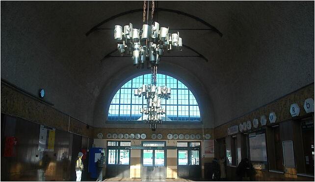 Kołobrzeg - dworzec kolejowy wnętrze, Kniewskiego Władysława11 78-100 - Zdjęcia