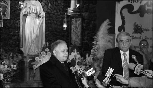 Lech Kaczyński i Zbigniew Religa w Kopalni Halemba (22 lis 2006) 41-706 - Zdjęcia