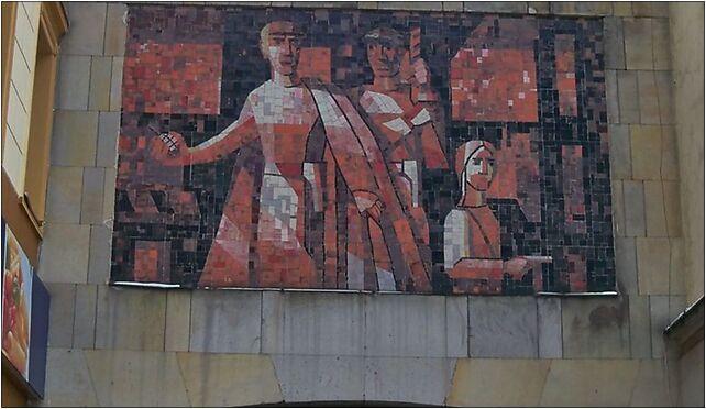 Mozaika nowy swiat jerozolimskie, Aleje Jerozolimskie 28, Warszawa 00-024 - Zdjęcia