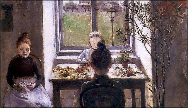 Olga Boznańska 1889 Kwiaciarki, 3 Maja, al. 1, Kraków 30-062 - Zdjęcia