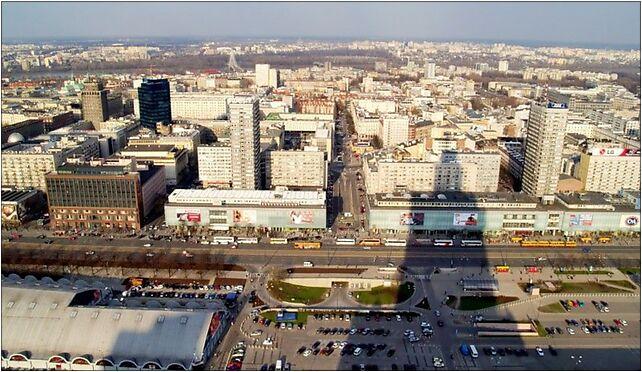 Palace of Culture and Science shadow, Warsaw, Marszałkowska od 00-004 do 00-693 - Zdjęcia