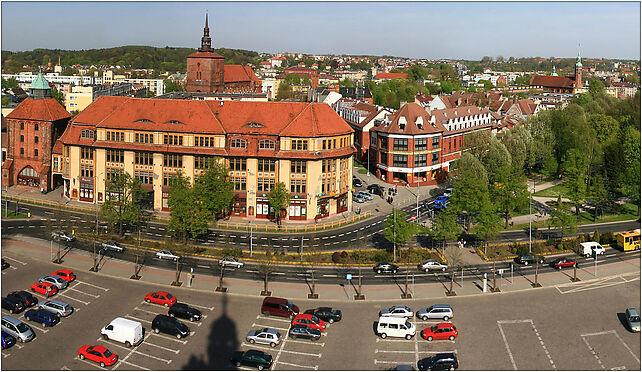 Panorama slupsk z ratusza, 21210, Słupsk od 76-200 do 76-280 - Zdjęcia