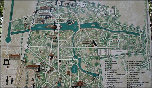 Plan Lazienek Krolewskich Agrykola Warszawa 00 460 Zdjęcia