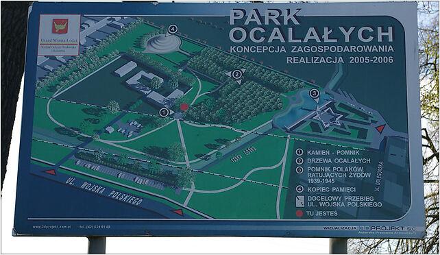 Plan Parku Ocalałych, Łódź, Wojska Polskiego, Łódź od 91-432 do 91-832 - Zdjęcia