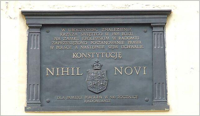 POL Radom castle Nihil novi, Wałowa 12, Radom 26-610 - Zdjęcia