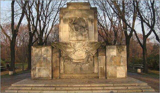 POL Warsaw Skaryszewski pomnik zolnierzy radzieckich front 03-910, od 04-008 do 04-076 - Zdjęcia