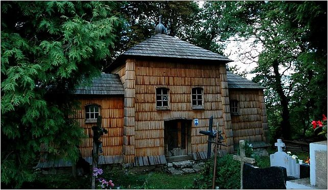 Poland Kruhel Wielki - wooden church, Leśna, Przemyśl 37-700 - Zdjęcia