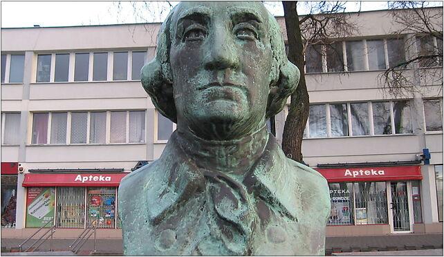 Pomnik Jerzego Waszyngtona w Warszawie 2, Francuska, Warszawa od 03-905 do 03-906 - Zdjęcia