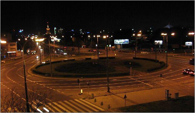 Rondo Waszyngtona nocą, Francuska, Warszawa od 03-905 do 03-906 - Zdjęcia