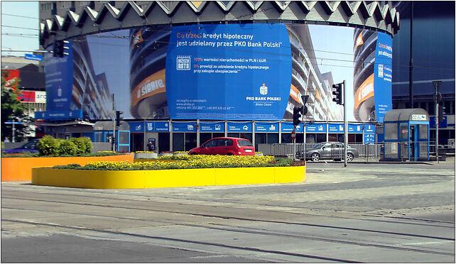 Rotunda as advertising column, Marszałkowska 100/102, Warszawa 00-026 - Zdjęcia