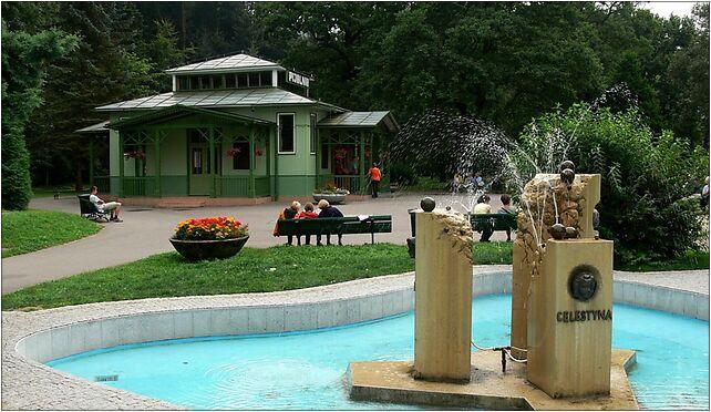 Rymanów-Zdrój - pijalnia i fontanna 2009-08-05, Berdelówka 38-481 - Zdjęcia