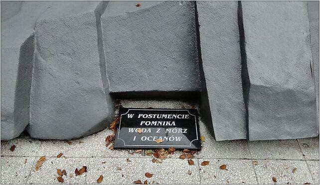 Szczecin Cmentarz Centralny Pomnik Tym ktorzy nie powrocili z morza 2 od 71-046 do 71-080 - Zdjęcia