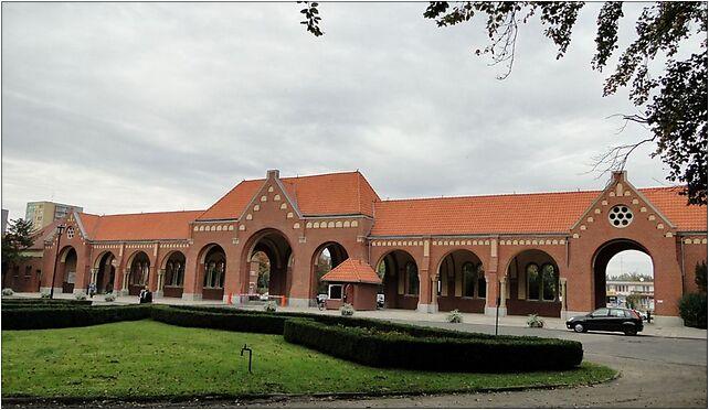 Szczecin Cmentarz Centralny brama glowna, Mieszka I, Szczecin od 71-046 do 71-080 - Zdjęcia