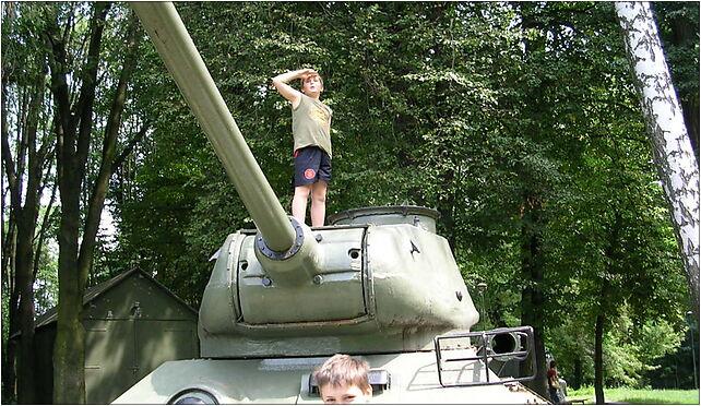 T-34-85M2 tank in Zamość 2, Peowiaków 44, Zamość 22-400 - Zdjęcia