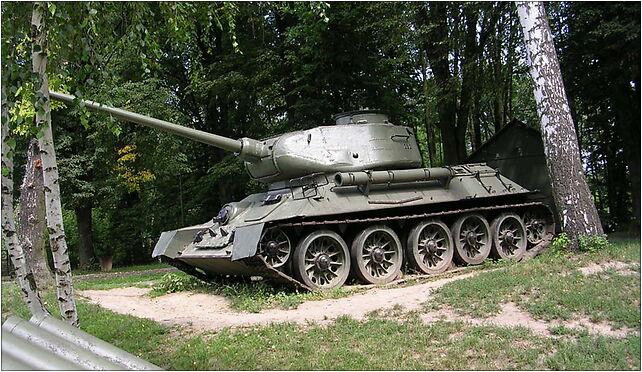T-34-85M2 tank in Zamość, Peowiaków 44, Zamość 22-400 - Zdjęcia