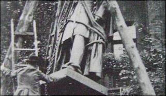 Torun Pomnik Wilhelma I - rozbiorka, Staromiejski Rynek 14, Toruń 87-100 - Zdjęcia