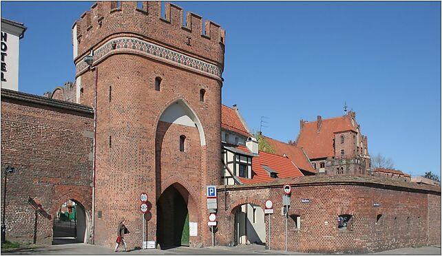 Torun brama Mostowa od str Wisly, Mostowa 2a, Toruń 87-100 - Zdjęcia