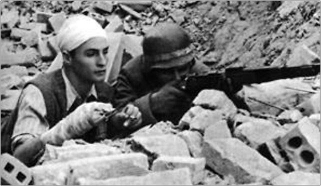 Warsaw Uprising - Plac Zbawiciela Barricade, Zbawiciela, pl. 1 00-642 - Zdjęcia