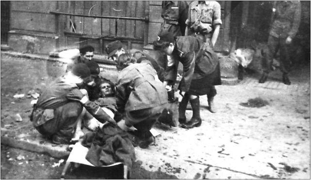 Warsaw Uprising by Joachimczyk - Evacuation of Wounded - 12352 00-020 - Zdjęcia