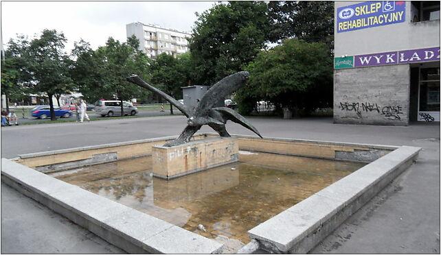Warszawa-Ochota, plac przy Grojeckiej, Grójecka 107, Warszawa 02-101 - Zdjęcia