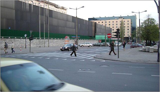 Zabezbieczony bank pl powstancow warszawy, Warszawa od 00-030 do 00-039 - Zdjęcia