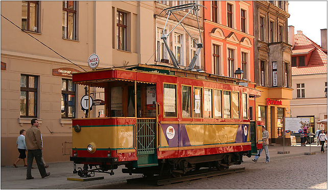Zabytkowy tramwaj, Staromiejski Rynek 14, Toruń 87-100 - Zdjęcia